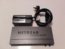 NETGEAR GS110TP (GS110TP-100EUS) 8-Port 100 Base-TX Fibre Channel Switch