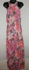 NEW Charlie Jade pink floral print maxi dress RRP 168$