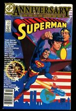 SUPERMAN 400 NEWSSTAND (9.6) ANNIVERSARY ISSUE BOLLAND BYRNE KIRBY DITKO  (b059)