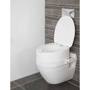 "Atlantis Raised Toilet Seat With Lid 6"" (15cm)"