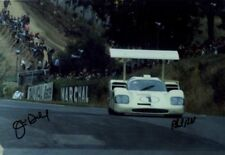 Phil Hill & Jim Hall Chaparral 2F Brands Hatch 6 Hours 1967 Signed Photograph