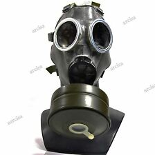 Vintage soviet era civil gas mask 40mm gas mask filter MS-4. Mask MC-1. Size S
