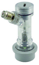 Cm Becker Check Valved Ball Lock Disconnect Gas In - Flare Corny Keg Beer Co2