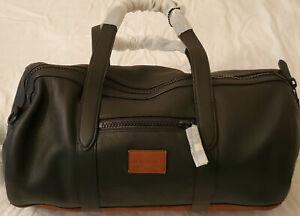 NEW!Mens CoachMetropolitan Duffle Bag Leather Travel MSRP $595