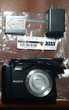 Sony 20.1MP CyberShot DSC-W800, Black-  Camera Body, Battery, and Charging Cable