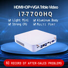 Intel Core i7-7700HQ upgradeable to 32GB RAM Gaming PC NUC Desktop HTPC Mini PC