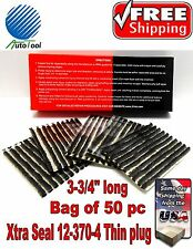 50 Xtra Seal TIRE PLUG SEALS 100% SELF VULCANIZING TUBELESS TIRE REPAIR 12-370-4