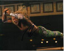 MICKEY ROURKE SIGNED THE WRESTLER PHOTO UACC REG 242 (2)