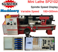 7x12 inch (180x300mm) Mini Lathe Machine For Metal Sumore SP2102 Free Shipping