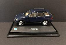Cararama 1/72 Scale BMW X5  Diecast Car Model Blue