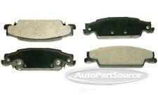 Disc Brake Pad Set-Semi-Metallic Pads Rear PPM922A fits 05-08 Pontiac Grand Prix