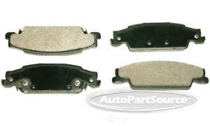 Disc Brake Pad Set-Semi-metallic Pads Rear Tru Star PPM922A