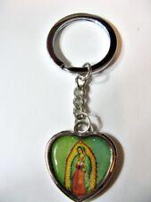 Schlüsselanhänger Maria geweiht Herzform Ø ca 3,5 cm (152)