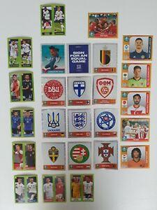 26 Verschiedene Sticker▫️Panini Uefa Euro 2020 Tournament Edition