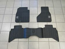DODGE RAM 1500 Quad Cab Rubber Floor Mat Set Front & Rear NEW OEM MOPAR