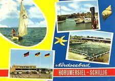 AK, Horumersiel - Schillig, 4 Abb., u.a. Freibad, 1971