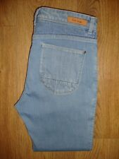 Paul Smith Womens 'Panelled Cropped' Blue Jeans W27 BNWT RRP £140