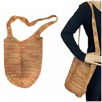 Helen Kaminski Handwoven Carillo Raffia Bucket Sac Shoulder Bag