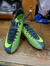 nike mercurial Victory Vi Cr7 Fg Seaweed Volt Silve Soccer Cleat Size 10.5 Only