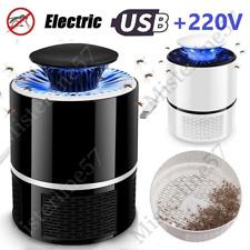 Cattura zanzare KILLER 360 Buzz Trapper UCCIDE Zanzare Insetti LED Trappola USB