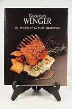 Rare Les Saisons De La Terre Jurassienne by Georges Wenger 1997. Haute Cuisine