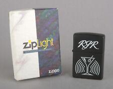 More details for zippo 1996-98 camel martini rjr ziplight (black matte, white screened logo)