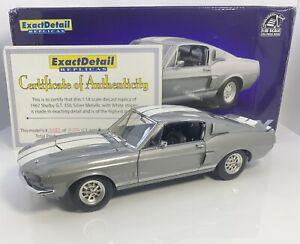 Exact Detail 1/18 Scale 1967 Mustang Shelby GT 350 Very Limited GREY RARE
