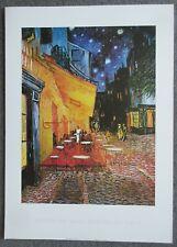 Vincent Van Gogh, Cafe Terrace - Art Print on Paper 50x70cm