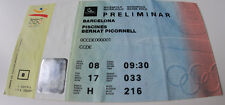 old ticket Olympic Barcelona 1992 Waterpolo Australia France Germany Hungary