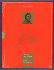 Fryderyk Chopin Man & His Music 1810-2010 Hardcover Book Irena Poniatowska New