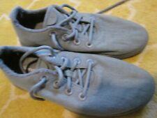 mens gray wool ? tie shoes casual walking 11