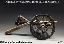 Artillery Ribodekin Tin toy soldier 54 mm figurine metal sculpture HAND PAINTED