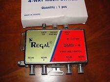 Regal Multi-Switch 4 way SMS-4