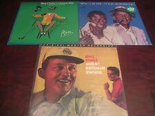 BING CROSBY MFSL BING SINGS BREGMAN SWINGS 200 GRAM LP + BING & LOUIS +  HITS LP
