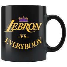 Lebron VS Everybody Los Angeles Basketball Mug - Fan Coffee Cup