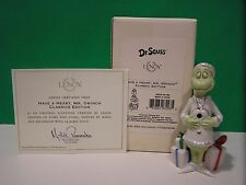 LENOX HAVE A HEART, MR. GRINCH CLASSIC EDITION Sculpture NEW in BOX with COA