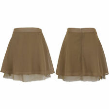 Patternless A-line Unbranded Regular Size Skirts for Women