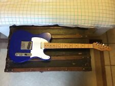 Used Squier Telecaster by Fender Electric Guitar in Blue. Great condition.