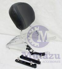 Mutazu Premium Sissy Bar Backrest & Luggage Rack for Suzuki VZ800 Marauder