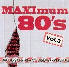 """Maximum 80's-Rare Maxi Vol.3 /12""""-Versions & Remixes Ultravox, Pet Shop B.. [CD]"""