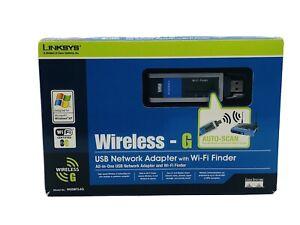 Linksys WUSBF54G (00745883567270) Wireless Adapter