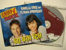 "ISABELLA SORIC UND FLORIAN AMBROSIUS ""SO BIN ICH"" - MAXI CD - CAMP ROCK"