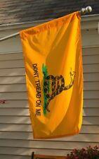 3x5 Gadsden Culpeper Culpepper Double Sided Nylon 2ply Flag w/ Sleeve & Pin