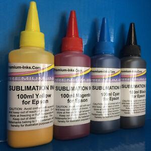400ml Dye SUBLIMATION Ink for Epson WorkForce WF-7715DWF WF-7720DTWF WF-7210DTW