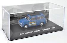 FIAT 500 GIARDINIERA 1964 - 1:43 DIECAST VW ITALIAN VAN TRUCK MODEL IXO C63