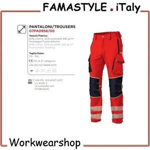Pantalone Croce Rossa Alta Visibilità 118 Medico Infermiere Ambulanza Uomo Donna