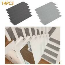 14PCS Carpet Stair Treads Mats Floor Mat Protection Cover Step Staircase Pad UK