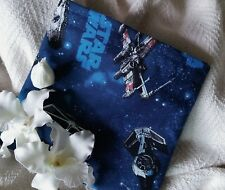 """REUSABLE SNACK & SANDWICH BAG/PARTY FAVOR """"Star Wars Space Ships"""""""
