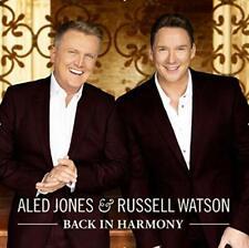ALED JONES & RUSSELL WATSON 'BACK IN HARMONY' CD (2019)