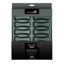 31cm x 16.5cm x 2.5cm Master Class Non-stick Twelve Hole Éclair Baking Pan -